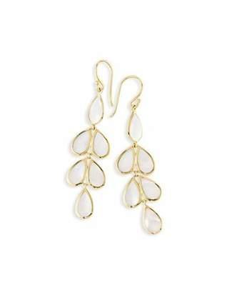 Ippolita 18k Rock Candy Mother Of Pearl Teardrop Earrings