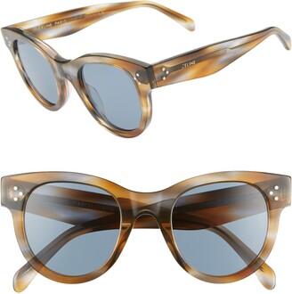 Celine 48mm Cat Eye Sunglasses