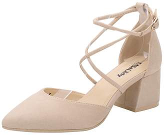 27e10e25188c47 Mila Louise Lady (Paula D Orsay Strappy Ankle Elegance Platform Lady Low  Heeled Point