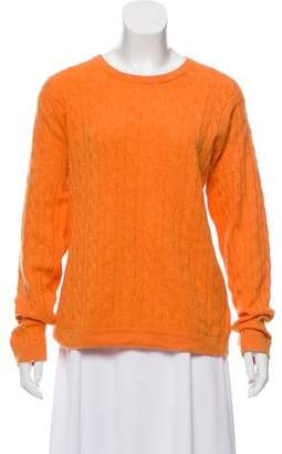 Peter Millar Cashmere Cable Knit Sweater