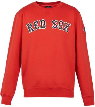 Marcelo Burlon County of Milan Red Sox-embroidered cotton sweatshirt