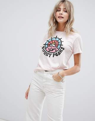 Maison Scotch basic t-shirt with various artwork