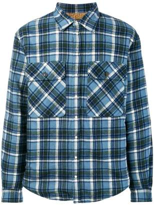 DSQUARED2 checkered longsleeved shirt