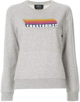 A.P.C. vintage sweatshirt
