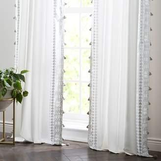 west elm Amytis Curtain