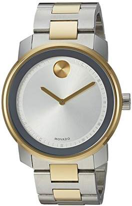 Movado Men's Swiss Quartz Two-Tone and Stainless Steel Casual Watch
