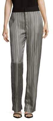 Lanvin Stripe Straight-leg Pants