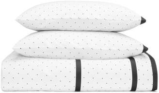 Kate Spade Dot Frame Duvet Cover Set, King
