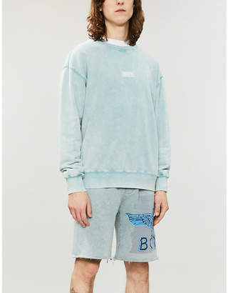 149c55d78849 at Selfridges · Boy London Glitch cotton-jersey sweatshirt