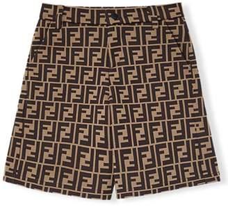 Fendi FF logo shorts