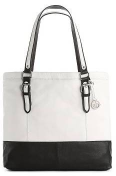 Audrey Brooke Two-Tone Spector Tote