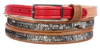 3.1 Phillip Lim Embellished Wrap Around Belt