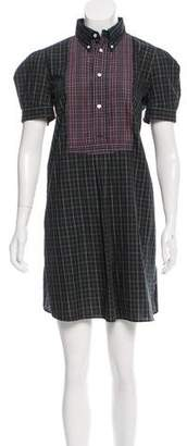 Ralph Lauren Plaid Mini Dress w/ Tags $175 thestylecure.com