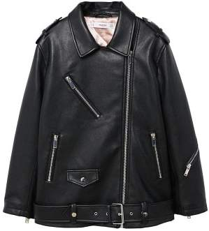 MANGO Biker oversize jacket