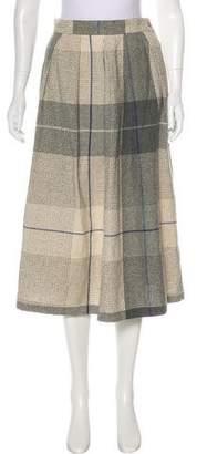 Diane von Furstenberg Wool Midi Skirt