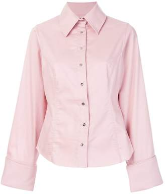 Marques Almeida Marques'almeida raw hem fitted shirt