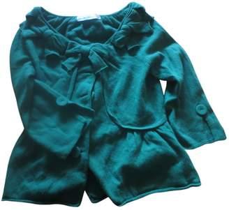 Anthropologie Green Wool Knitwear for Women