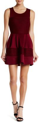 Trixxi Scuba Textured Dress $59 thestylecure.com