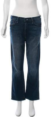 Mother High-Rise Cropped Jeans w/ Tags