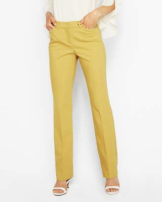 Express Mid Rise Barely Boot Curve Pant