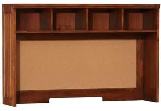 Pottery Barn Teen Beadboard Space-Saving Desk Hutch, Chestnut