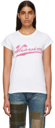 Visvim White Logo Cap Sleeve T-Shirt
