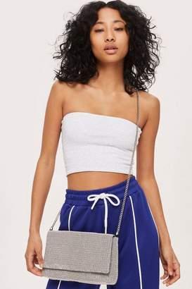 Diana diamante clutch bag