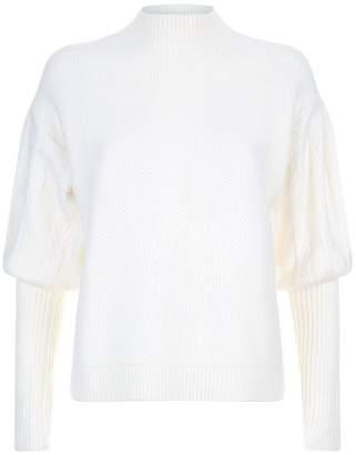 Jonathan Simkhai Balloon Sleeve Sweater