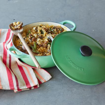 Le Creuset Classic Rosemary Curved Oven, 2¾ qt.