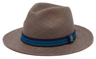 Yosuzi Elias Straw Hat - Mens - Blue