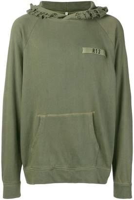 R 13 loose fitted hoodie