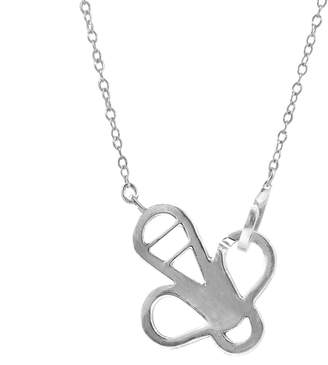 ANCHOR & CREW - Flying Bee Link Paradise Silver Necklace Pendant