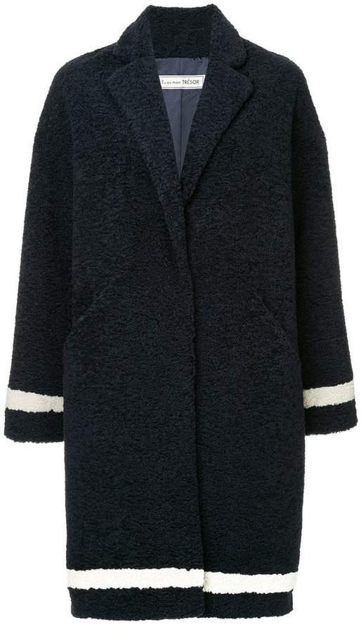 Tu Es Mon Trésor The Bear faux fur coat