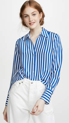 L'Agence Brielle Long Sleeve Blouse
