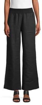 Saks Fifth Avenue Linen Wide Leg Pants