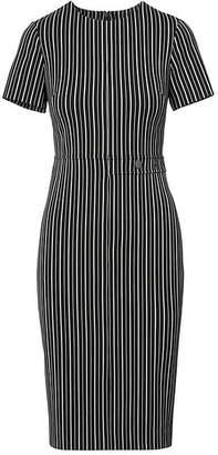 Banana Republic Petite Side-Button Bi-Stretch Sheath Dress