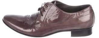 Lanvin Patent-Leather Derby Shoes