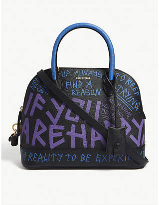 5e62f5162ee6 at Selfridges · Balenciaga Graffiti handbag