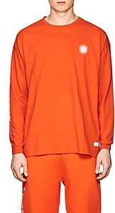 Stampd Men's Logo Cotton T-Shirt - Orange