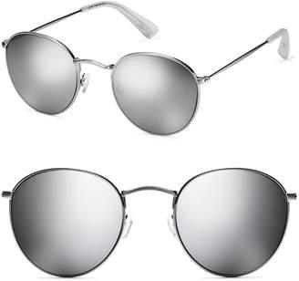 MVMT Icon 50mm Polarized Wire Sunglasses