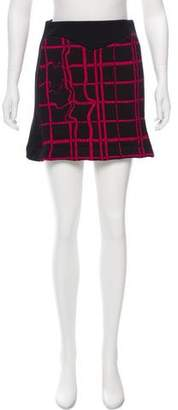 Kenzo Paneled Knit Skirt