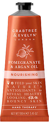 Crabtree & Evelyn Pomegranate & Argan Oil Nourishing Hand Therapy, 100ml
