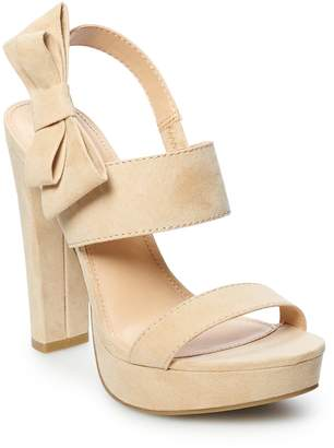 Lauren Conrad Apple Pie Women's Platform High Heels