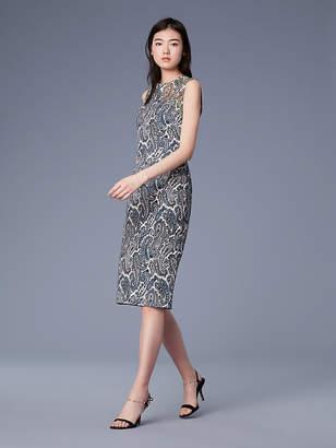 Diane von Furstenberg Sleeveless Sheath Dress