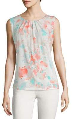 Calvin Klein Watercolor Sleeveless Top