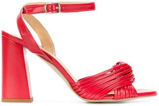 Rebecca Minkoff cross strap sandals