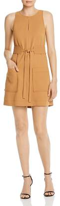 Joie Puck Belted Shift Dress