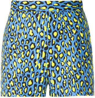 Reinaldo Lourenço animal print shorts