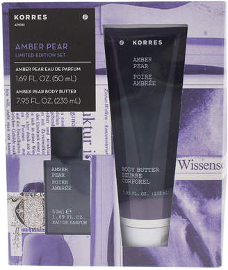 Korres 2Pc Amber Pear Gift Set