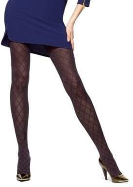 Hue Textured Diamond Tights